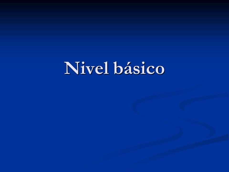 Nivel básico