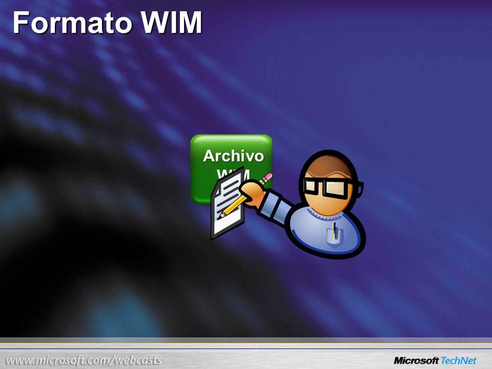Formato WIM Archivo WIM