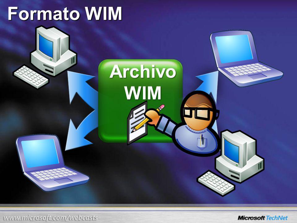 Archivo WIM Formato WIM