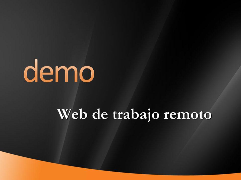 37 Web de trabajo remoto