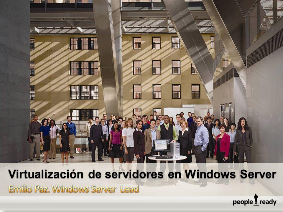 EvoluciónHardware Virtualizacion Multicore 64-Bit Consumoenergético