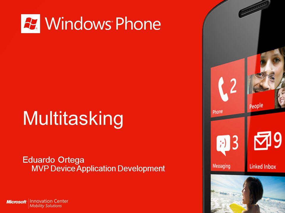 Windows Phone 7.5 Modelo de ejecución