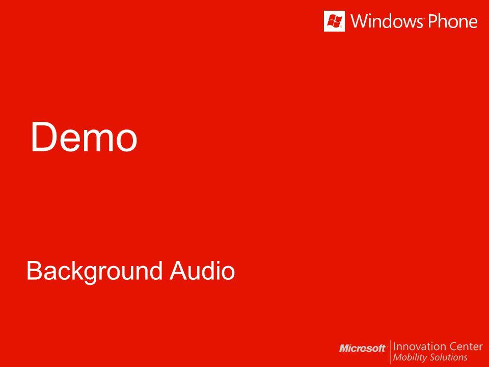 Demo Background Audio