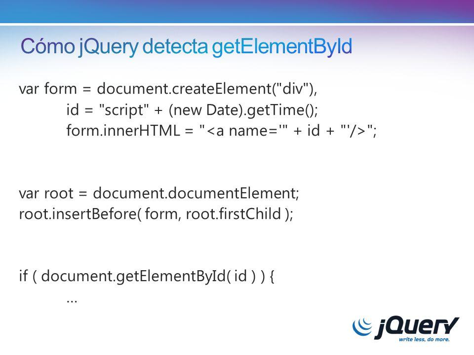 var form = document.createElement( div ), id = script + (new Date).getTime(); form.innerHTML = ; var root = document.documentElement; root.insertBefore( form, root.firstChild ); if ( document.getElementById( id ) ) { …