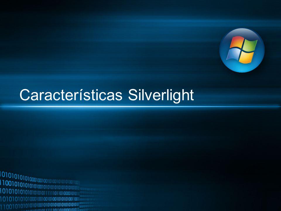 Características Silverlight