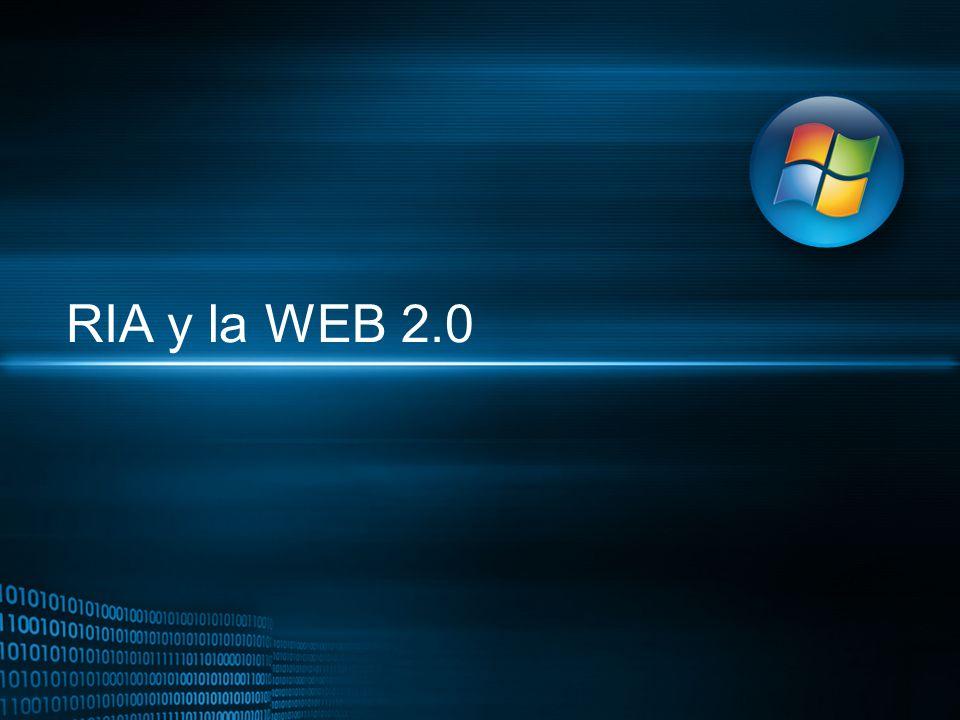 RIA y la WEB 2.0