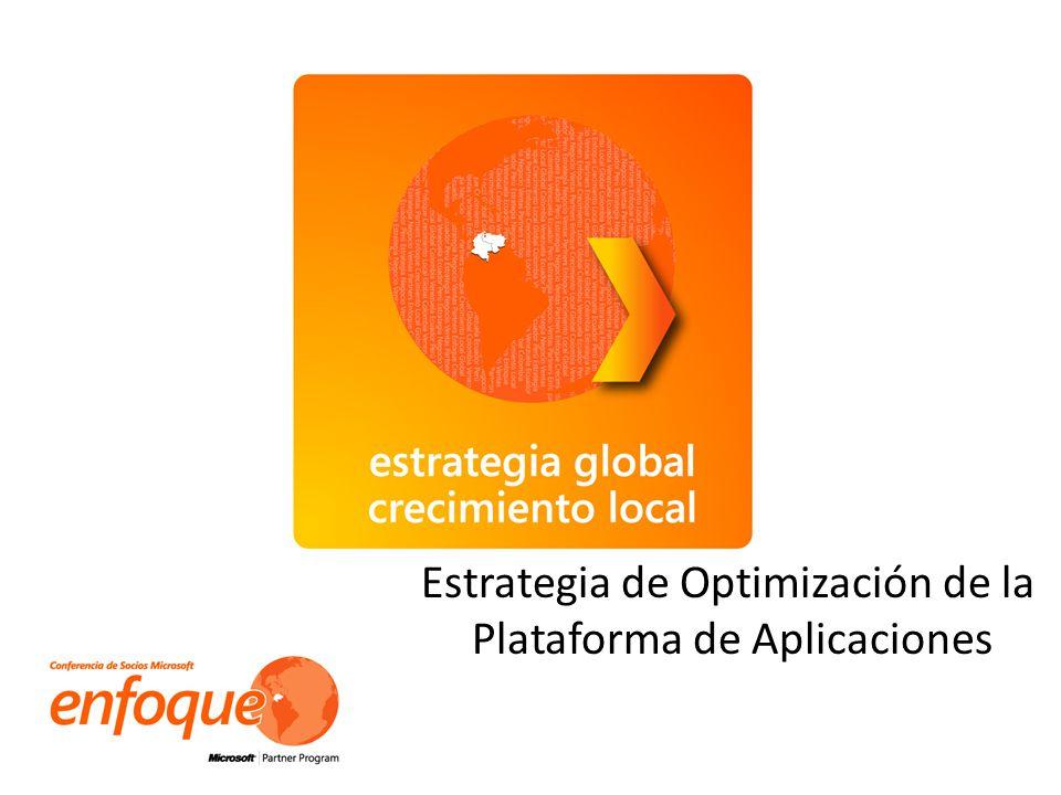 Estrategia de Optimización de la Plataforma de Aplicaciones