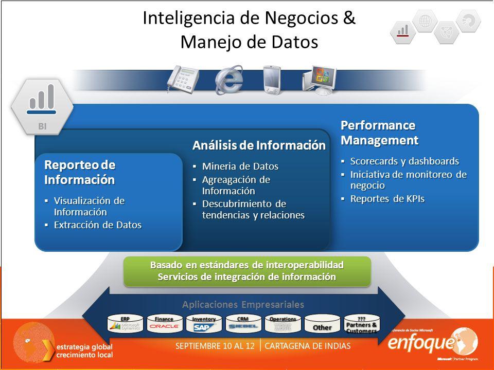 Inteligencia de Negocios & Manejo de Datos Análisis de Información Mineria de Datos Mineria de Datos Agreagación de Información Agreagación de Informa