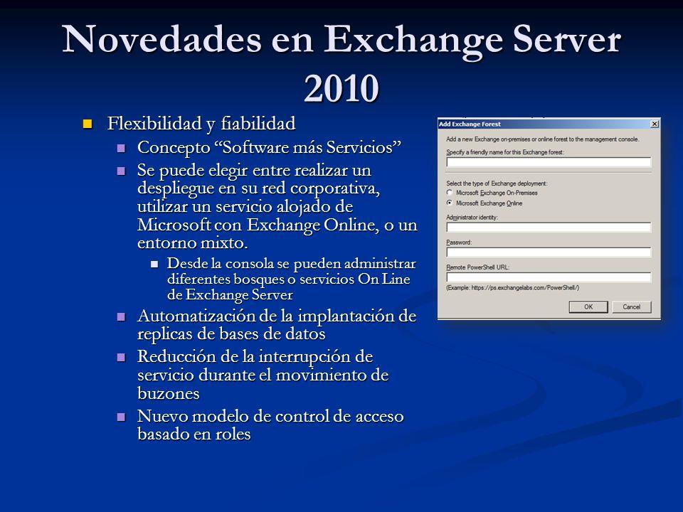 Flexibilidad y fiabilidad Flexibilidad y fiabilidad Concepto Software más Servicios Concepto Software más Servicios Se puede elegir entre realizar un