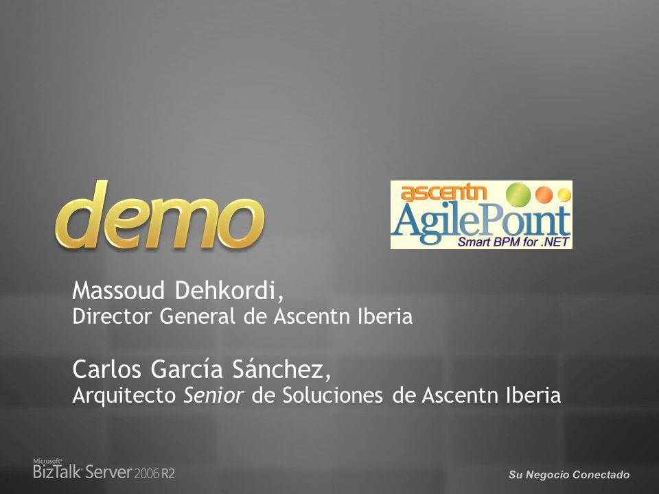Su Negocio Conectado Massoud Dehkordi, Director General de Ascentn Iberia Carlos García Sánchez, Arquitecto Senior de Soluciones de Ascentn Iberia