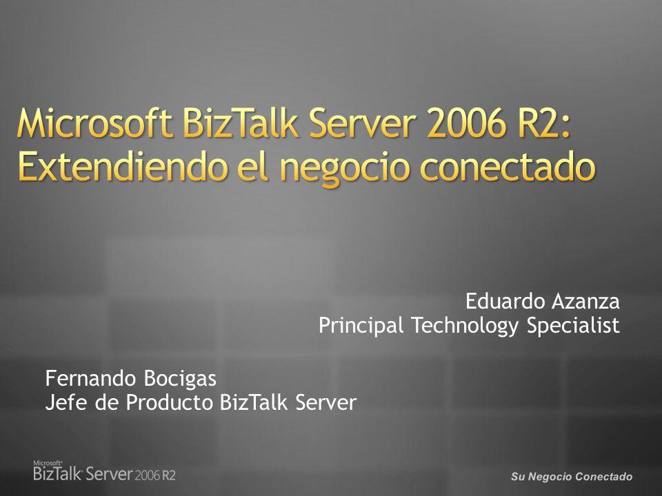 Fernando Bocigas Jefe de Producto BizTalk Server Eduardo Azanza Principal Technology Specialist