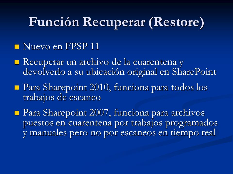 1/1/2008 15 Microsoft Confidential - For Internal Use Only Administración Central de Sharepoint