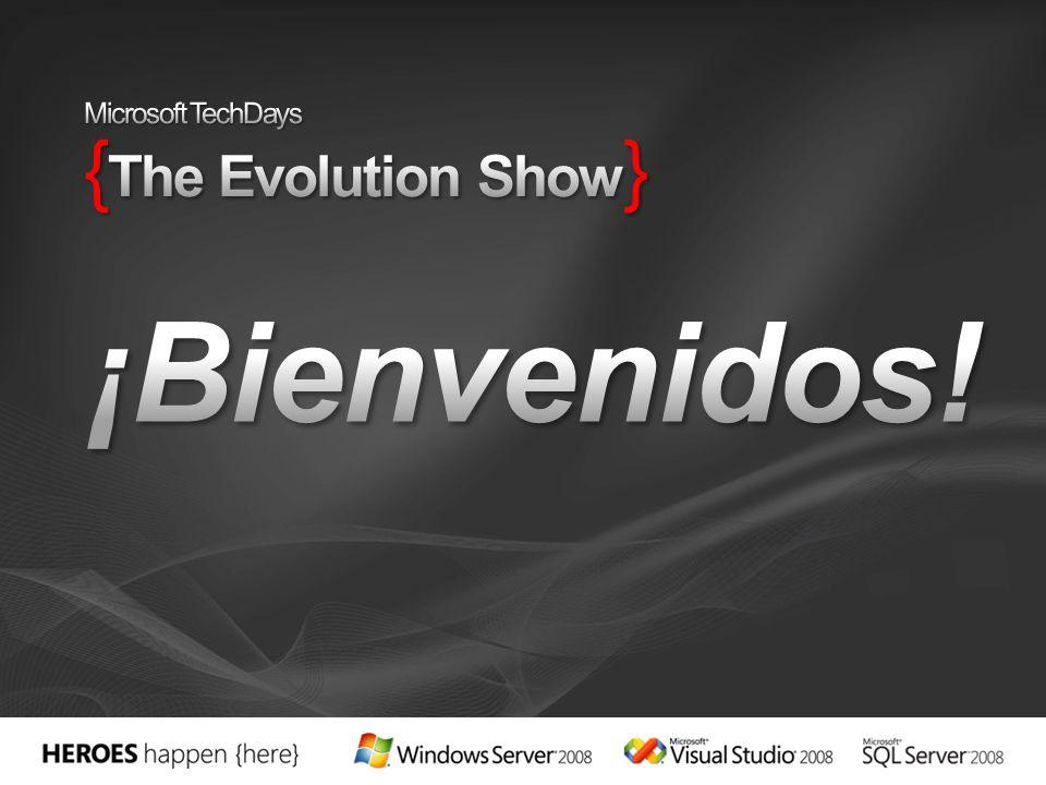 Auditorio A Planta 0 Salas Londres 2planta Sala Ámsterdam 2ª Planta Sala Roma 2planta Microsoft TechDays { The Evolution Show }