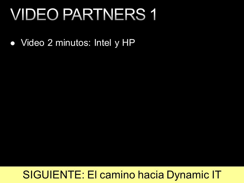 Video 2 minutos: Intel y HP SIGUIENTE: El camino hacia Dynamic IT