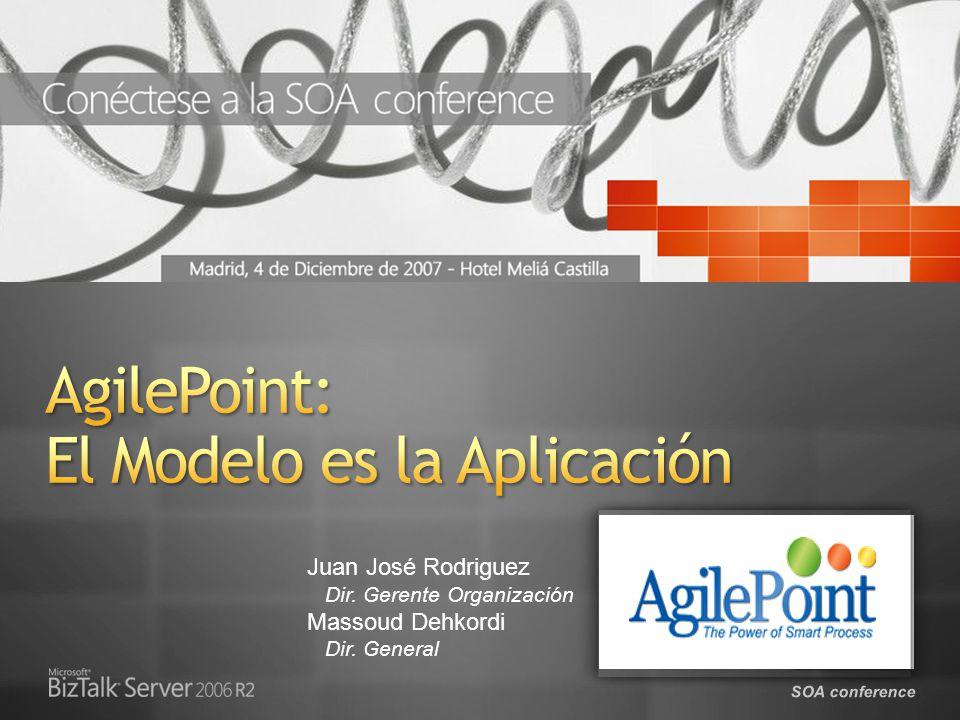 SOA conference AgilePoint BPMS inyecta la capa de gestión de procesos en la organización, conectando personas, sistemas y estrategia.