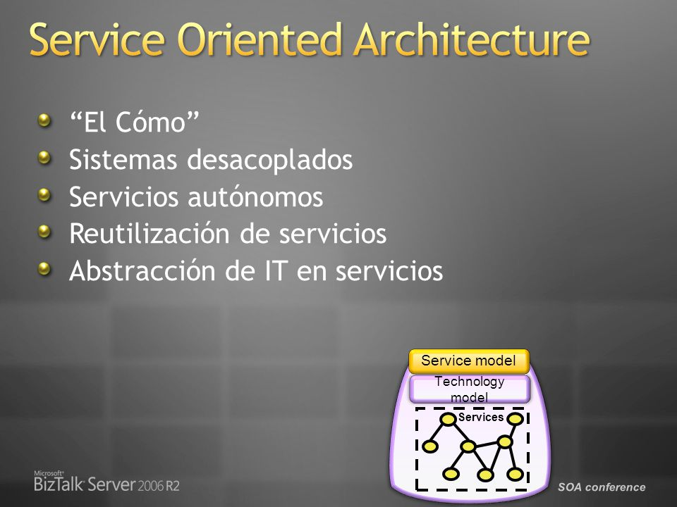 SOA conference Device Service Provider Interface (DSPI) Event Processing Framework