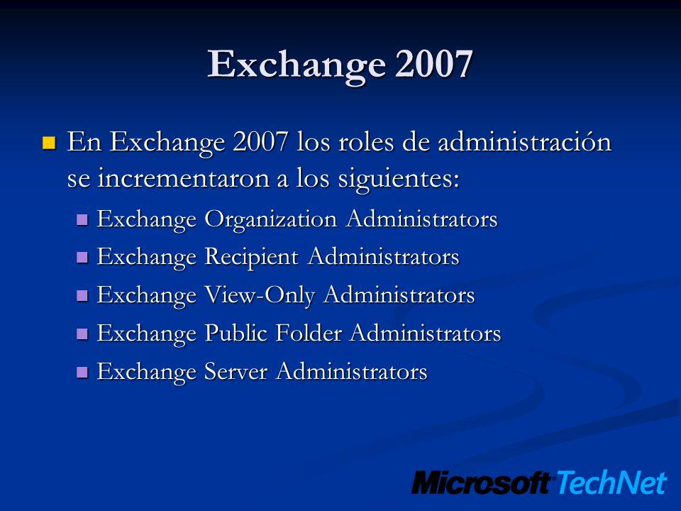 HERRAMIENTAS EXCHANGE 2010