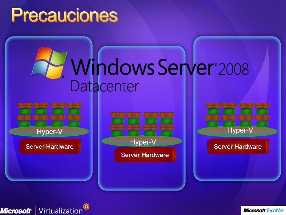 Hyper-V Server Hardware Hyper-V Server Hardware