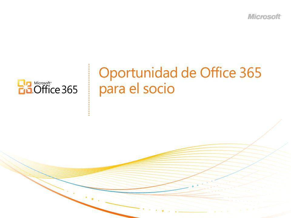 Oportunidad de Office 365 para el socio