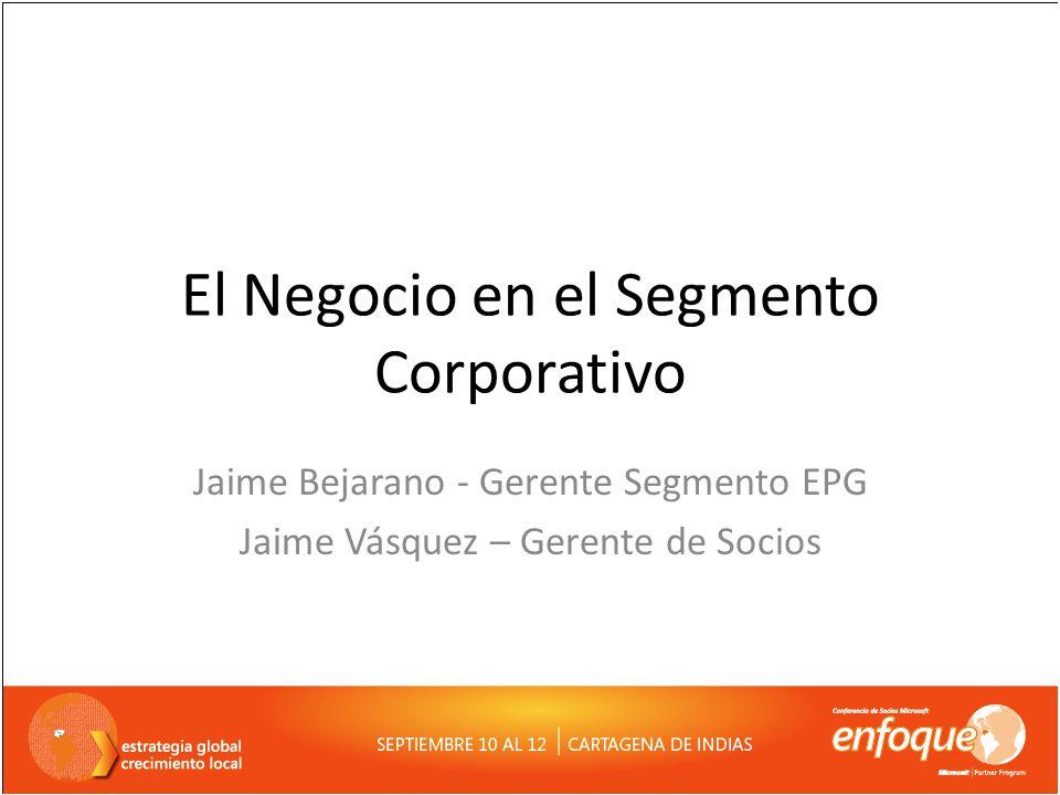 Nuestra Organización hoy Evolución del Modelo de Ventas Oportunidad de Crecimiento en Corporativo Como ser exitosos en Corporativo Objetivo de nuestra Sesión
