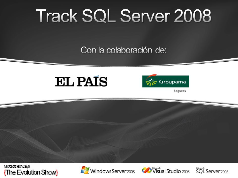 HoraSesiónSalaDía Hands On Labs SQL Server 2008 27-feb11:15 - 12:00Sala ÁmsterdamHands-On Lab.