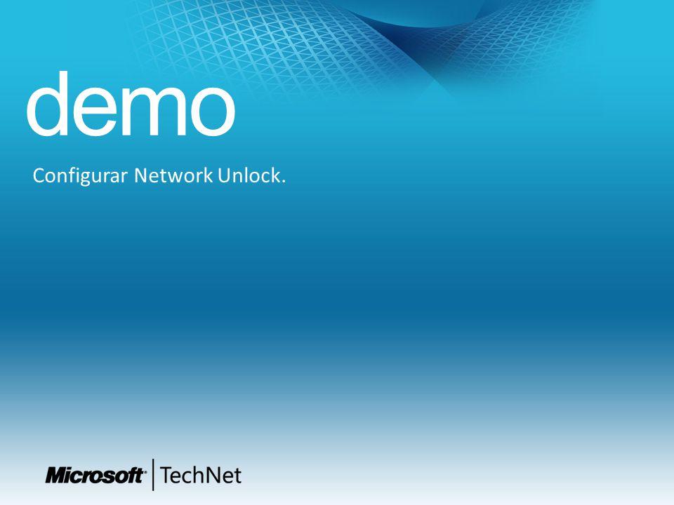 Configurar Network Unlock.