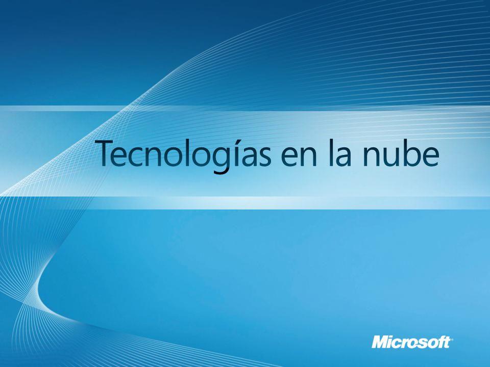 Windows Azure es escalable.