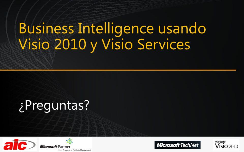 Business Intelligence usando Visio 2010 y Visio Services