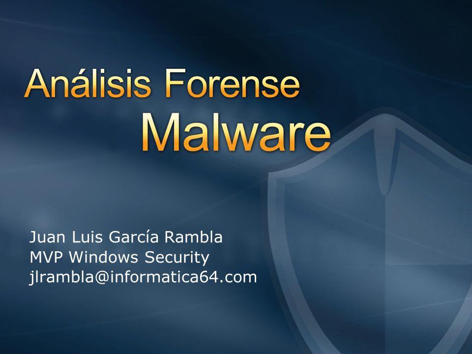 Juan Luis García Rambla MVP Windows Security jlrambla@informatica64.com