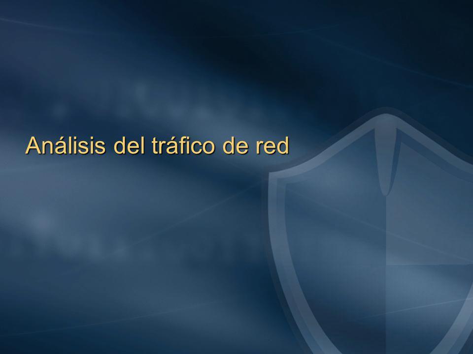 Análisis del tráfico de red