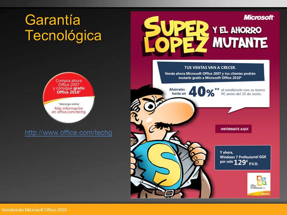 Vendiendo Microsoft Office 2010 Garantía Tecnológica http://www.office.com/techg