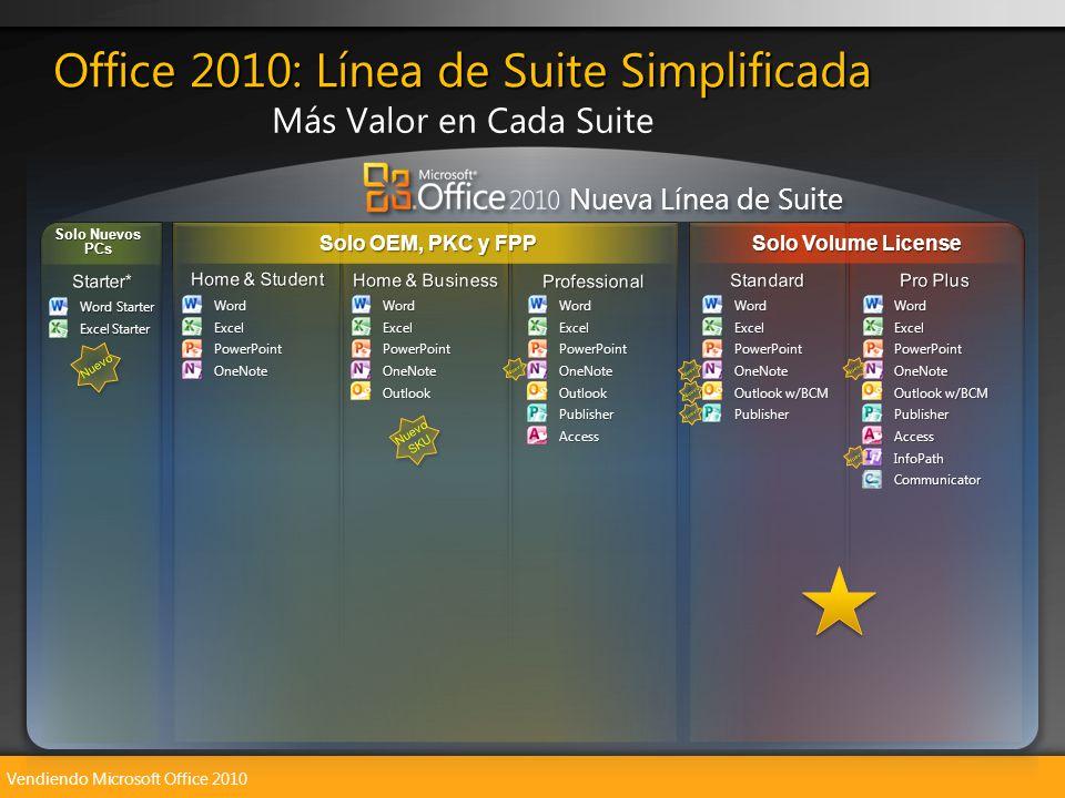 Vendiendo Microsoft Office 2010 Nuevo SKU Nueva Línea de Suite WordExcelPowerPointOneNote Outlook w/BCM PublisherAccessInfoPathCommunicator Solo OEM,
