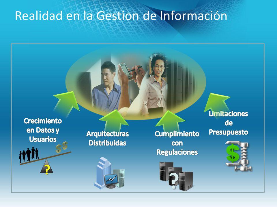 Realidad en la Gestion de Información ? ?
