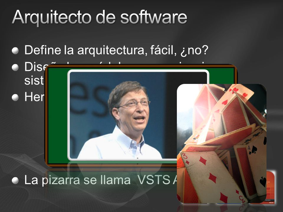 Define la arquitectura, fácil, ¿no. Diseña los módulos, comunicaciones, sistemas … Herramientas.