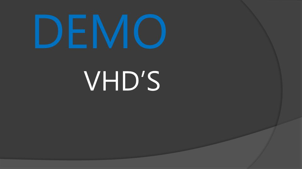 DEMO VHDS