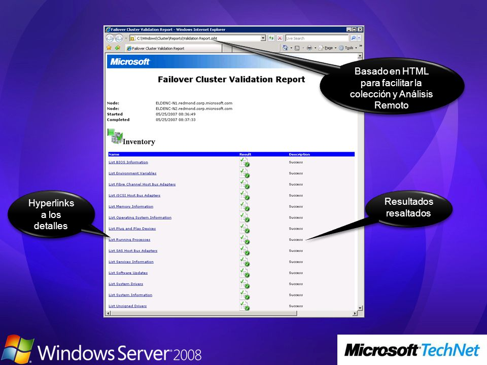 Windows Server 2008 Beta 3 Step-by-Step Guides What s New in Failover Clusters Step-by-Step Guide for Configuring a Two-Node File Server Failover Cluster in Windows Server Longhorn Step-by-Step Guide for Configuring a Two-Node Print Server Failover Cluster in Windows Server Longhorn Failover Clustering TechNet Virtual Lab: Windows Server 2008 Enterprise Failover Cluster