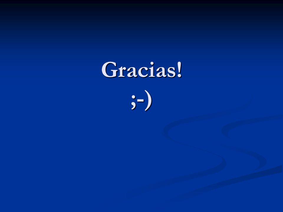 Gracias! ;-)
