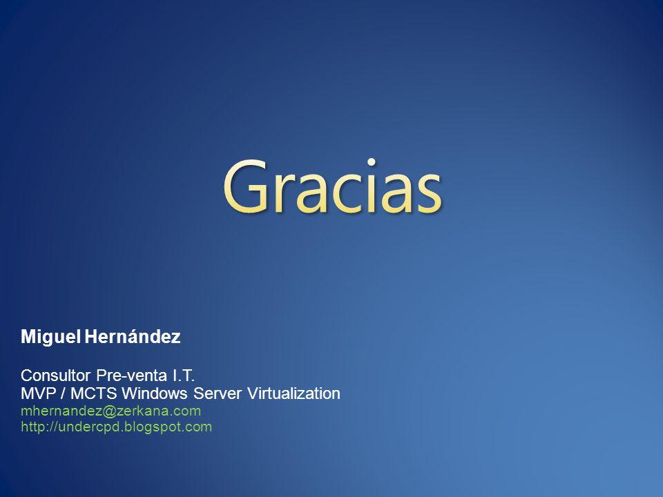 Miguel Hernández Consultor Pre-venta I.T.