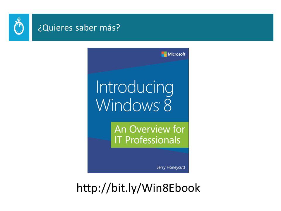 http://bit.ly/Win8Ebook ¿Quieres saber más?