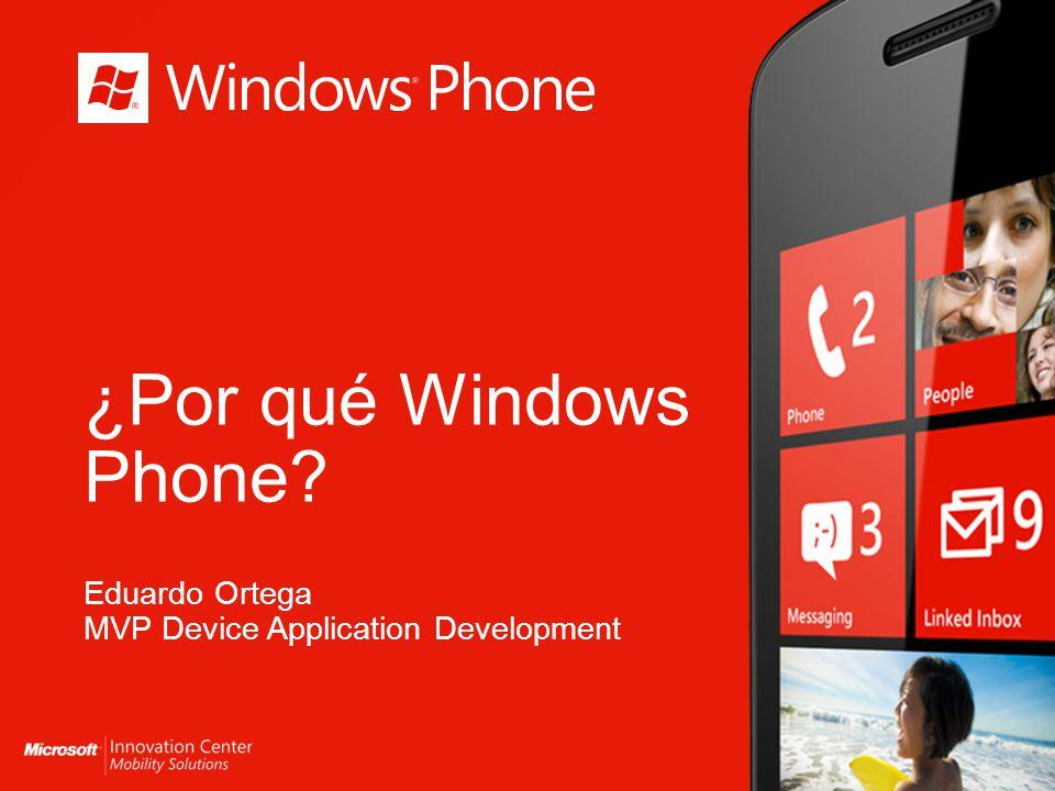 Windows Phone Comunicación modernizada Una forma mas inteligente de aplicación Internet mas allá del navegador PPT REM 5 PPT REM 6 PPT REM 4
