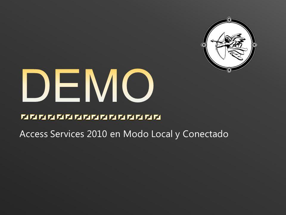 Access Services 2010 en Modo Local y Conectado
