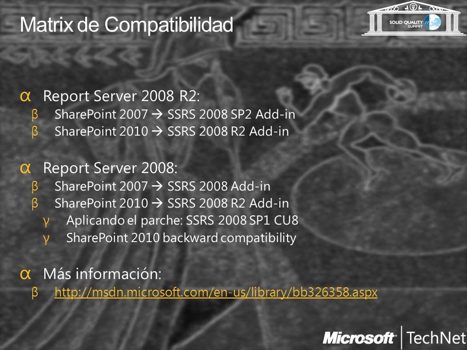 Matrix de Compatibilidad