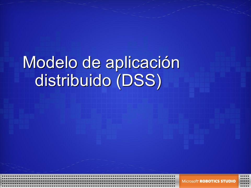 Modelo de aplicación distribuido (DSS)