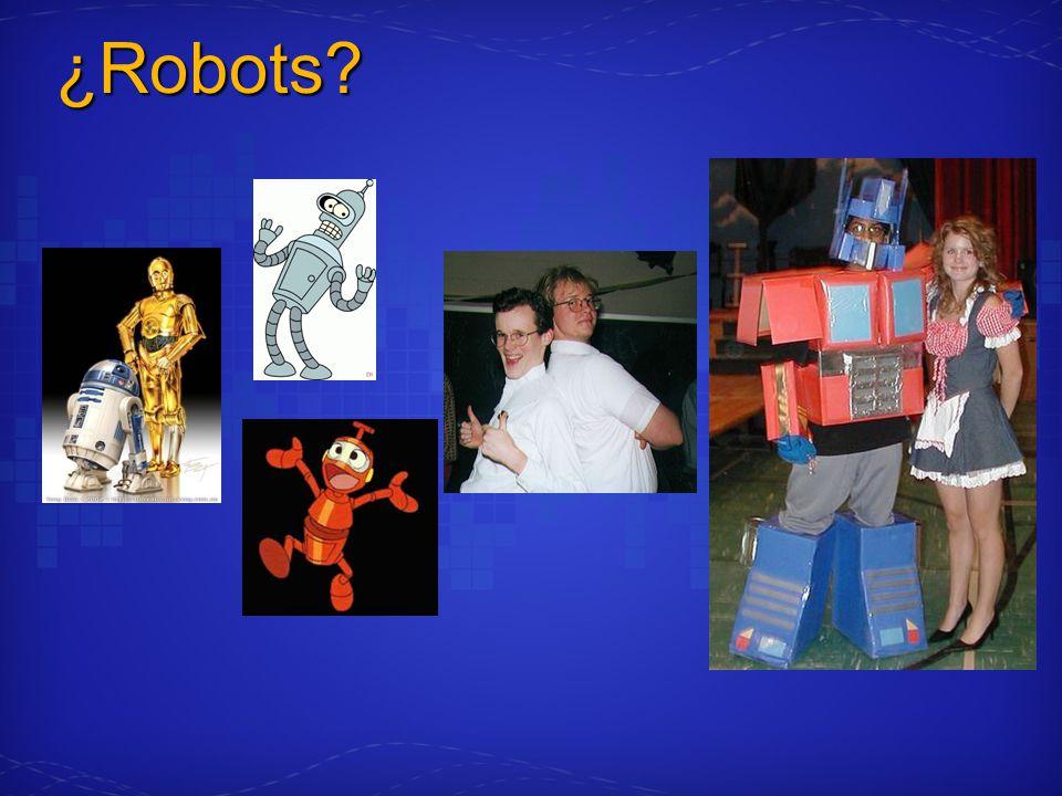 ¿Robots