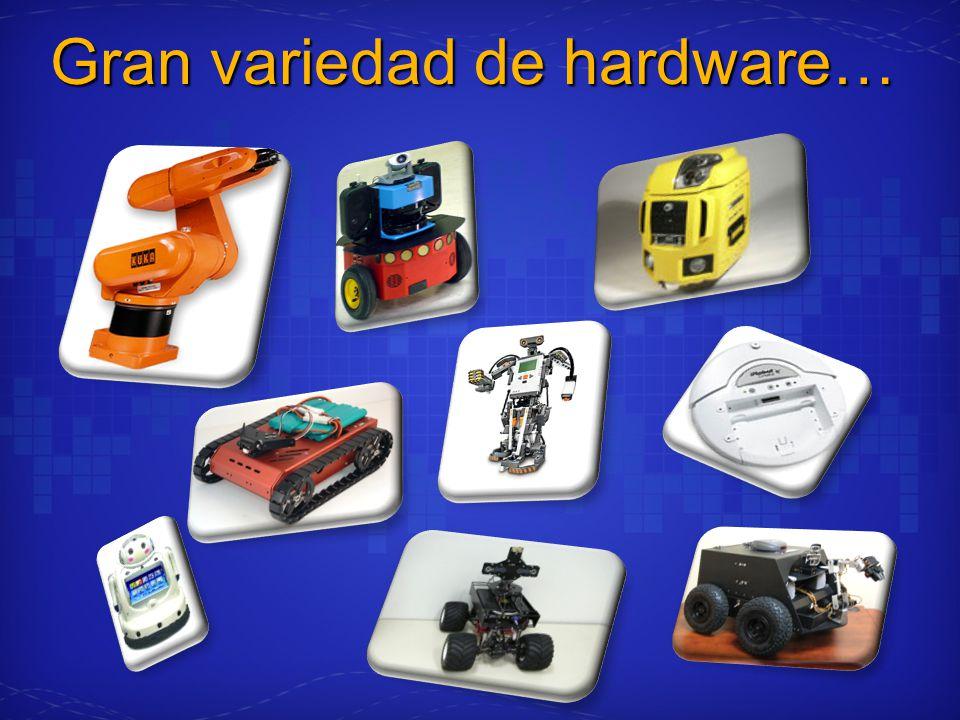 Gran variedad de hardware…