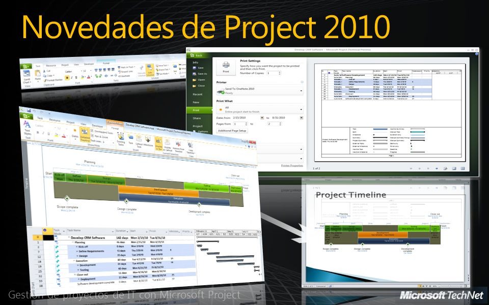 Gestión de Recursos Gestión de proyectos de IT con Microsoft Project
