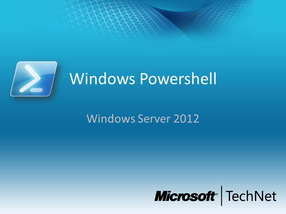 Windows Powershell Windows Server 2012