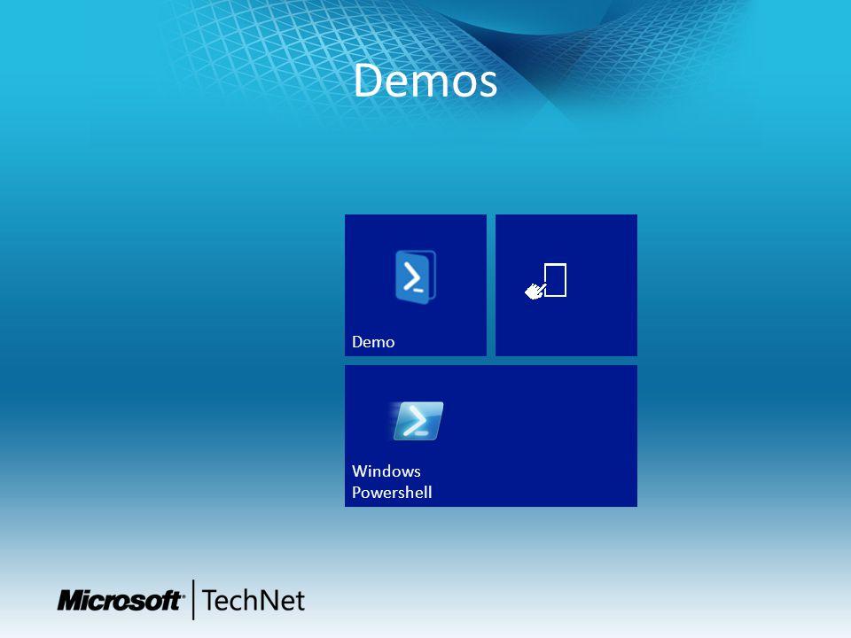 Demos Windows Powershell Demo