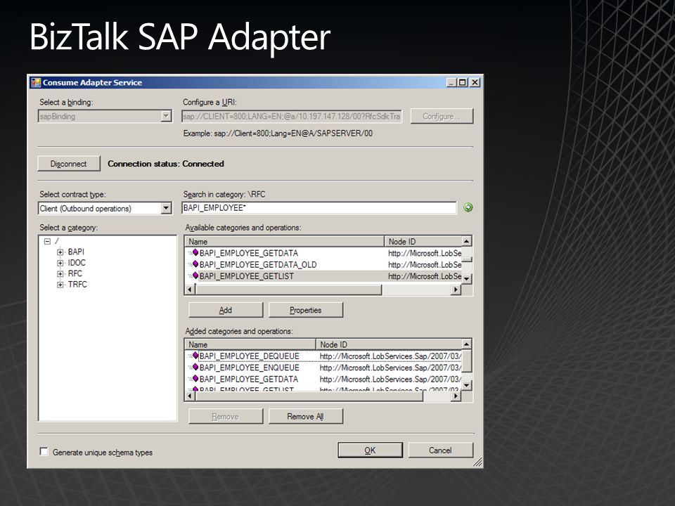 BizTalk SAP Adapter