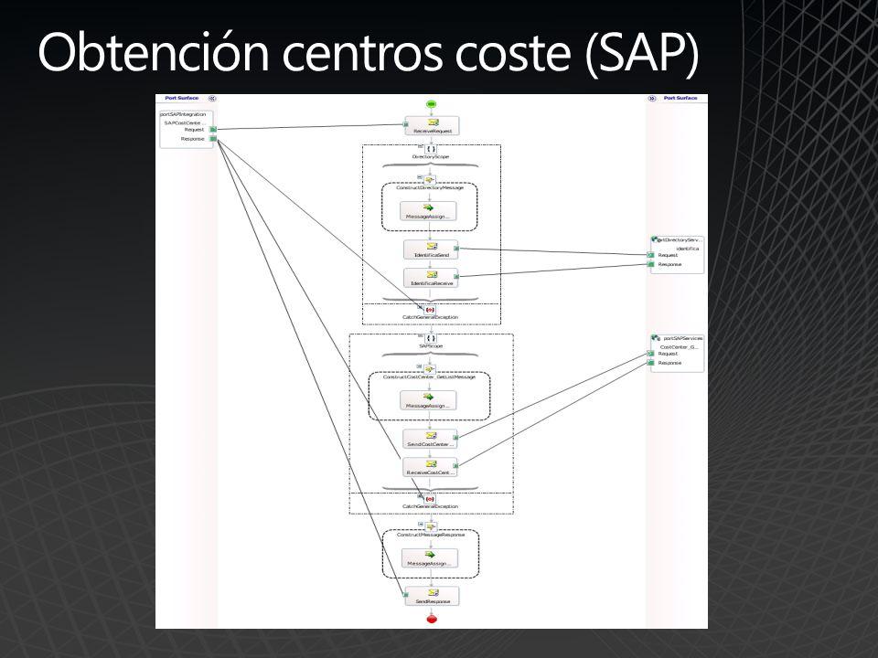 Obtención centros coste (SAP)